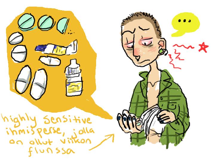 lääkkeet teksti