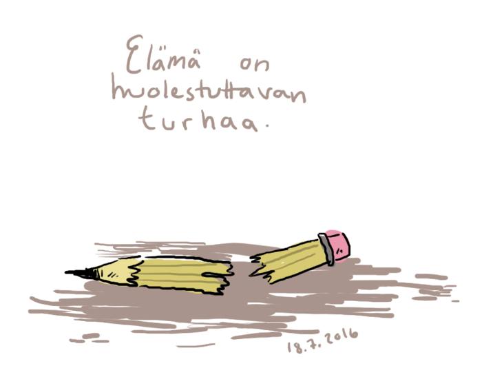 poikki kynä