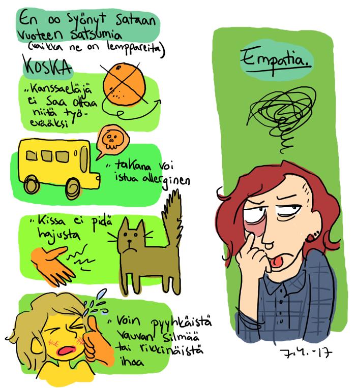 empatia mandariini